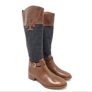 NEW Tory Burch Blaire Riding Boots Size 7.5